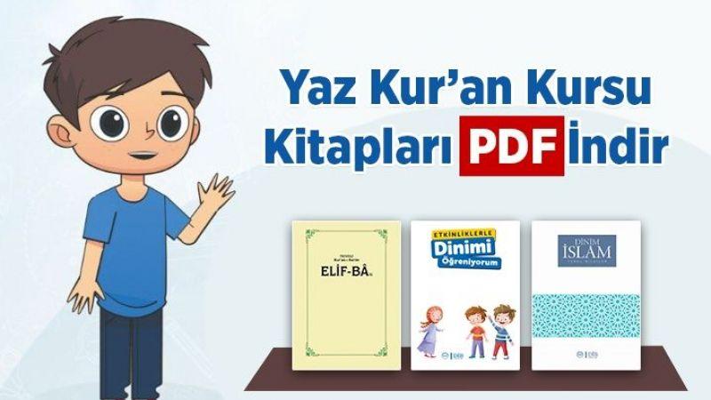 Yaz Kur'an Kursu kitapları PDF indir