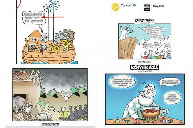 Turkcell'in ahlaksız dergisi yayından kaldırıldı