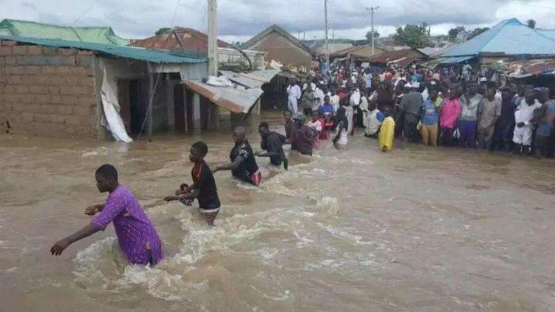 Nijerya'da sel felaketi: 131 ölü