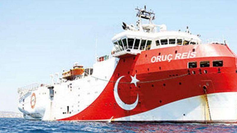 Oruç Reis Doğu Akdeniz'de sismik testlere başladı