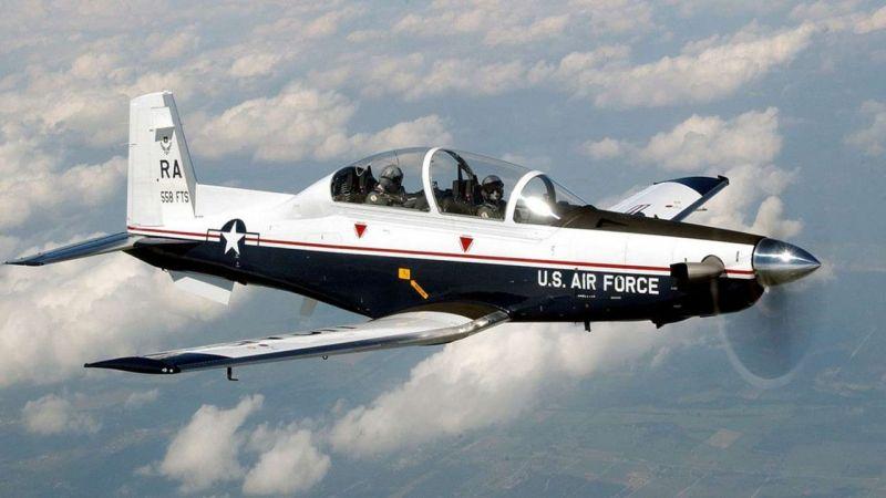 ABD'de eğitim uçağı düştü: 2 kişi ölü