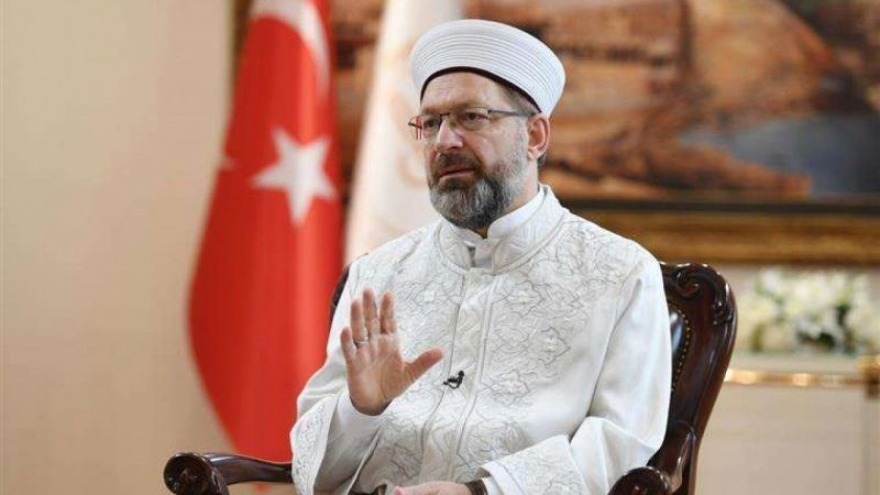 Erbaş'tan Yunan Başpiskoposu'na tepki