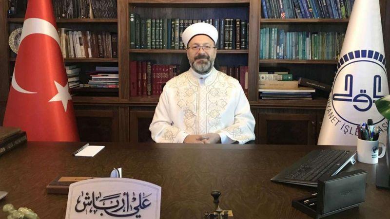Diyanet İşleri Başkanı Erbaş, imam hatipli gençlere hitap etti