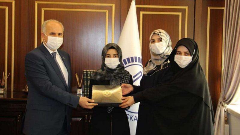 Genç Hafize Nurgül Baytar bölge birincisi oldu