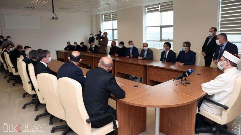 Erbaş'tan İslami İlimler Fakültesi'ne ziyaret