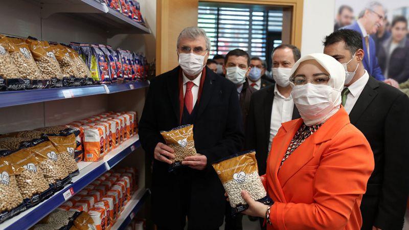 Sakarya'da Sosyal Market faaliyete geçti