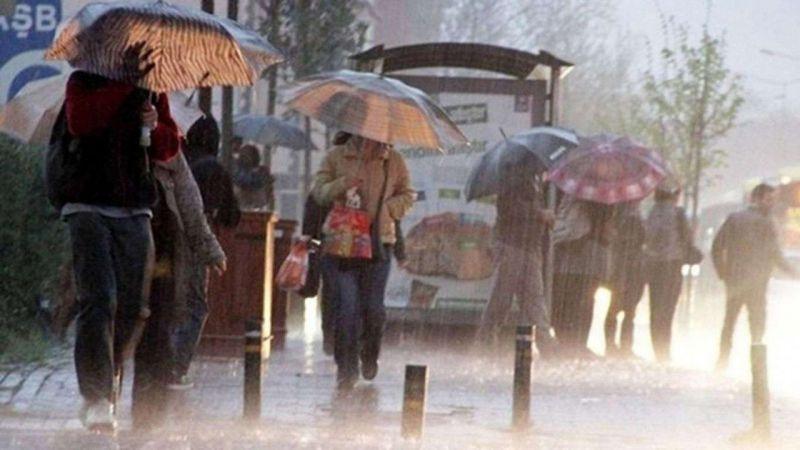 Türkiye genelinde sağanak yağış bekleniyor