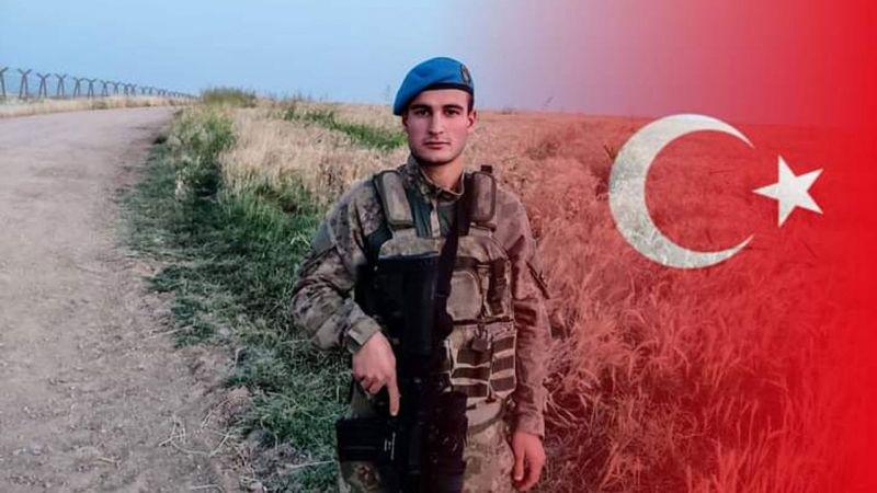 Bir askerimiz Suriye sınırında şehit oldu