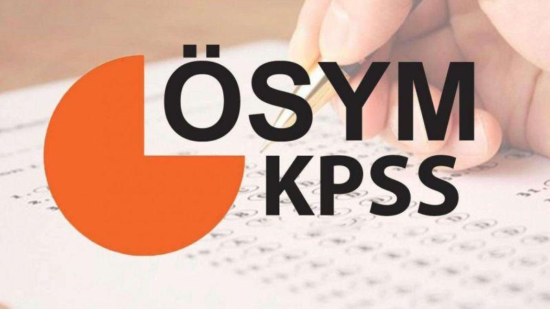 KPSS 2021/1 yerleştirme sonuçları açıklandı