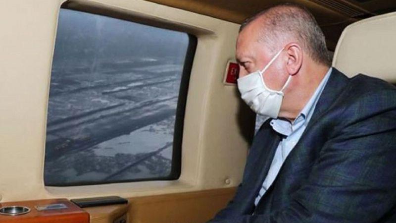 Erdoğan'ın uçağı zorunlu iniş yaptı