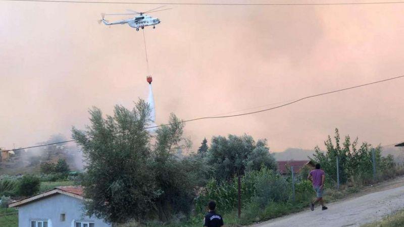 17 ilde 58 orman yangını oldu