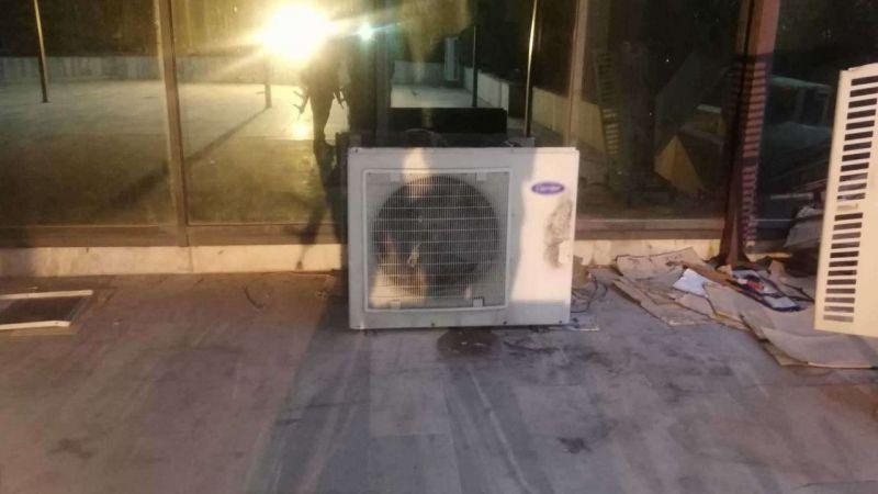 Caminin klima motorunu çalacaklardı