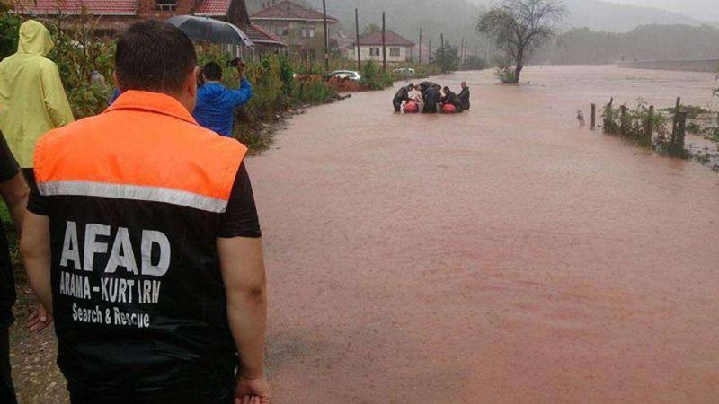 """AFAD'dan """"ani ve yoğun yağış"""" uyarısı"""