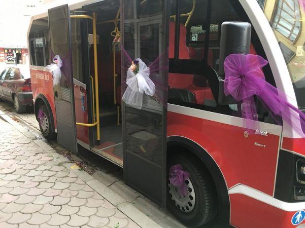Gelin almaya yolcu minibüsüyle gitti