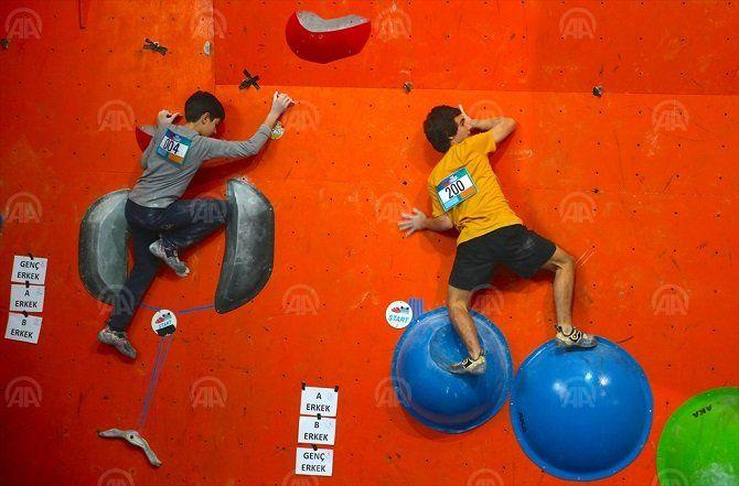 Boulder Şampiyonası Sakarya'da yapıldı