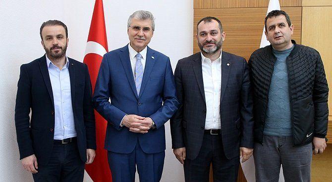 Başkan Yüce'den Sakaryaspor'a destek sözü