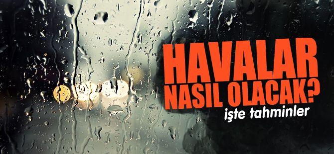 Sakarya'da yağmurlu günler