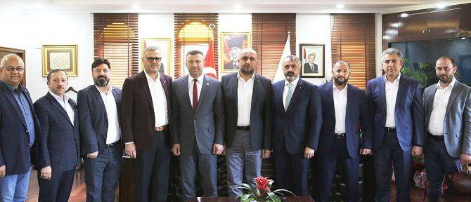 TÜMSİAD'dan belediye başkanlarına ziyaret