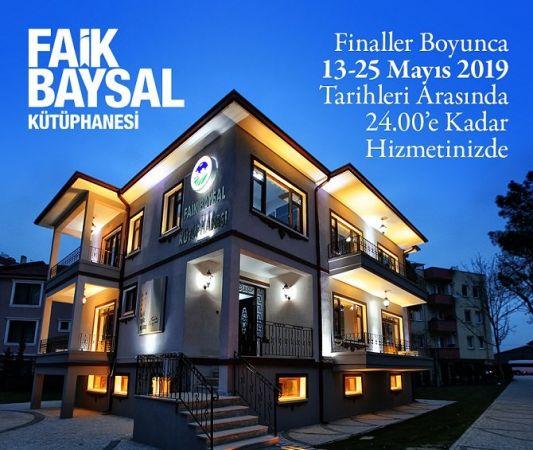 Final için, Faik Baysal