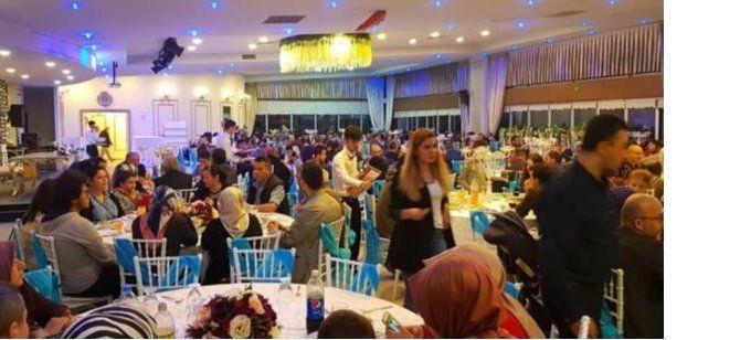 Sivaslılar iftar için bir arada