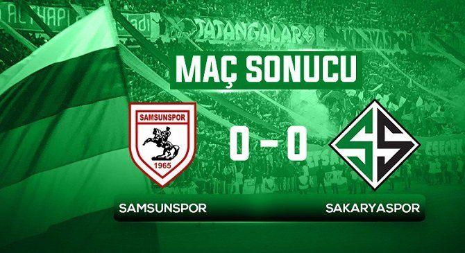 Sakaryaspor Yarı Finalde 0-0