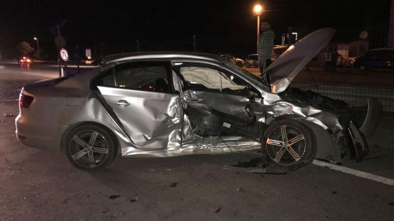 Sakarya'da trafik kazası: 10 yaralı