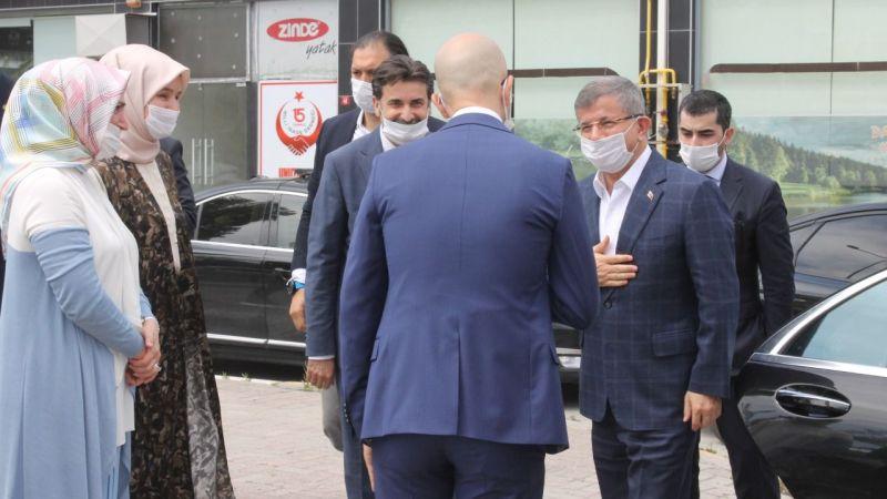 Gelecek Partisi Genel Başkanı Ahmet Davutoğlu Sakarya'da