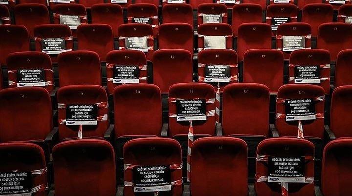 Sinema salonları yeniden kapatıldı
