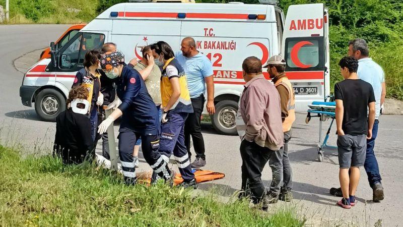 Karasu yolunda kaza: 3 Kişi yaralandı
