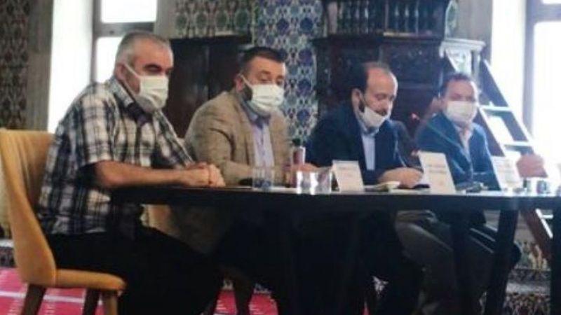 Ezan okuma yarışmasının finali Yeni Cami'deydi