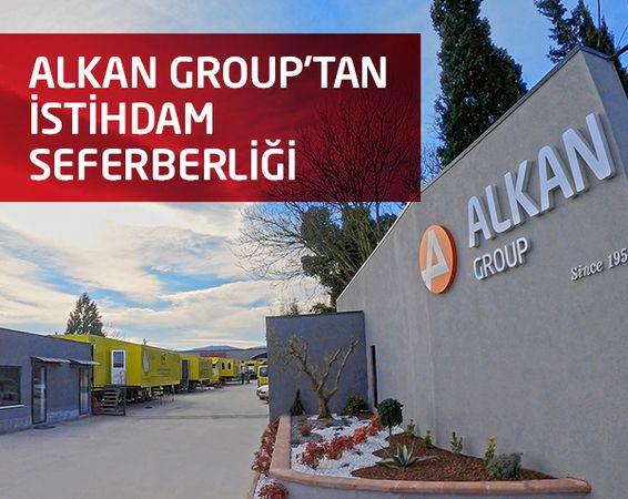 Alkan Group 63'üncü yılında 63 nitelikli personel alımı yapıyor