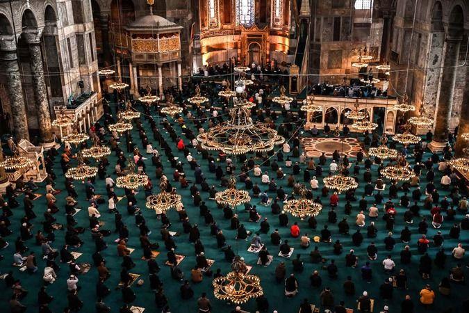 Kurban Bayramı Namazında camiler doldu taştı