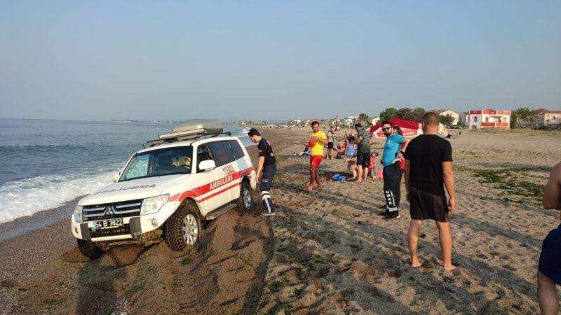 Karasu'da müsilaj alarmı! Deniz yasaklandı