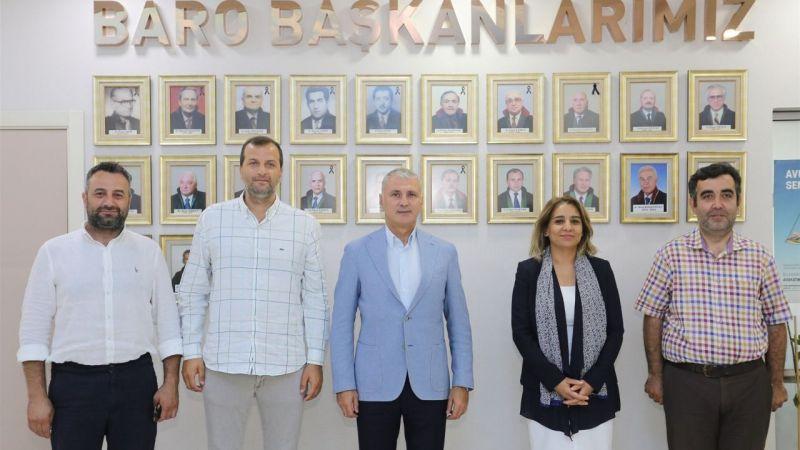 SATSO Başkanı Altuğ'dan, Baro Başkanı'na ziyaret