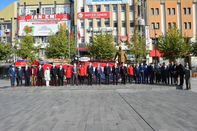 Sakarya'da İlköğretim haftası.