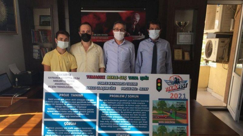 Liseli öğrenciler, TEKNOFEST'te Sakarya'yı temsil edecek