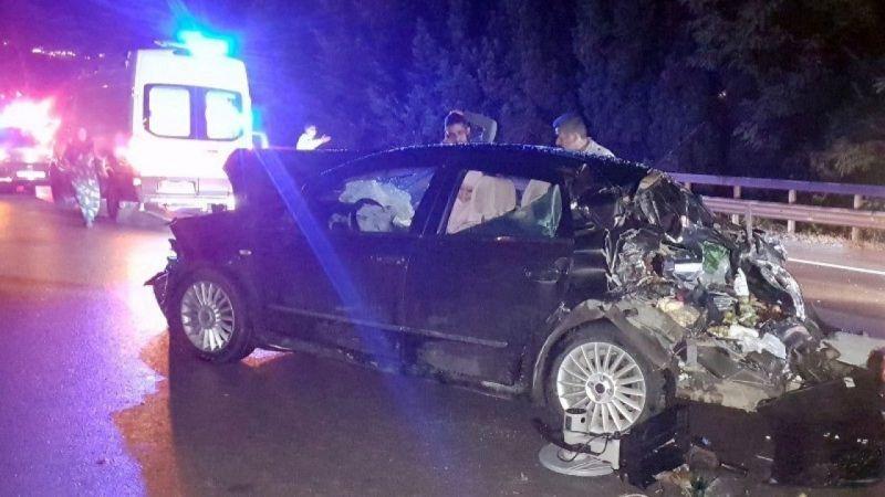 TEM Sapanca'da zincirleme kaza: 5 yaralı