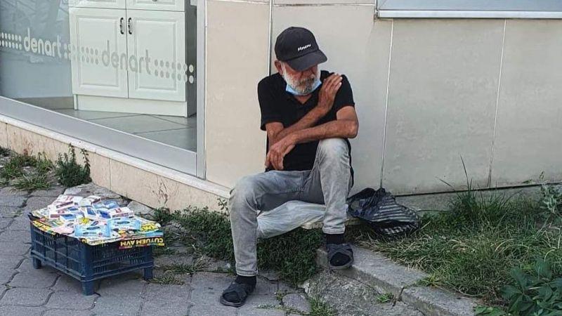 Adapazarı Bosna Caddesi'nde bir kimsesiz