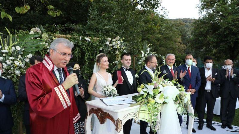 Vali Özdemir Çakacak Oğlu'nu evlendirdi
