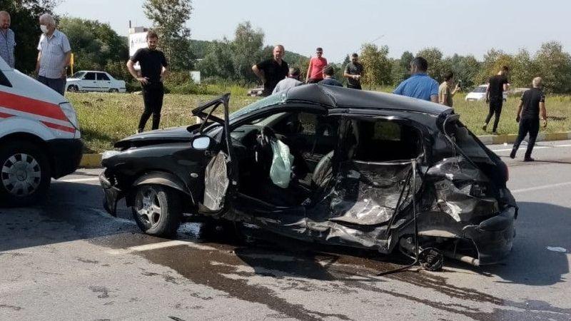 Kazada ağır yaralanan genç kadından acı haber