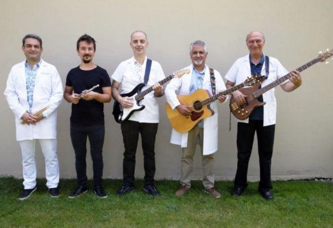 Hekimlerin müzik gurubu ilk konserine hazır