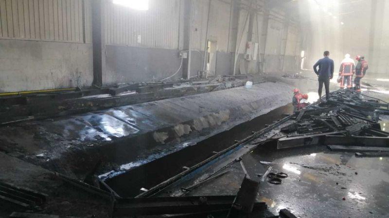 Sakarya 2. OSB'de fabrika yangını
