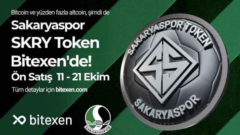 Sakarya Token Arzı Bitexen'de Başlıyor!