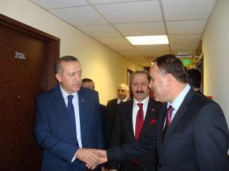 Başbakan ve Bakanlarla bölgeyi konuştu