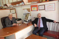 CHP'li Uzun'dan gazetemize ziyaret