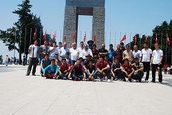 EMAP üyeleri Çanakkale'yi gezdi