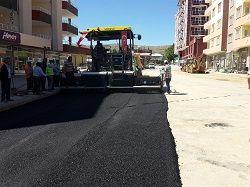 Afşin Belediyesi, asfalt sezonunu açtı
