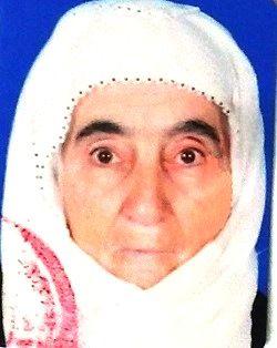 Fatma dede 87 yaşında