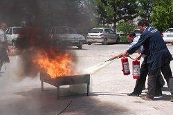 EDH'de yangın ve kurtarma tatbikatı