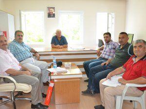 BYEGM, Elbistan'da gazete ve radyo çalışanlarıyla buluştu